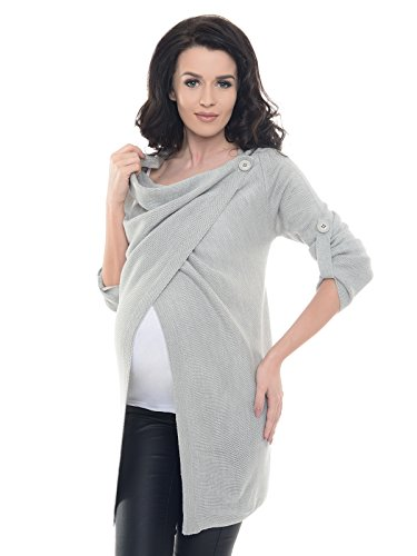 Purpless maternity cardigan prémaman 9005 (40/42, light gray2)