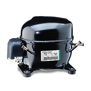 Compressore gas R404A R507 ermetico - 1/2 Hp - 12,1 cm3 - Embraco Aspera NEK6213GK