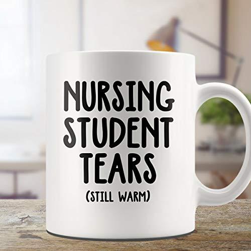 Mike21Browne Krankenpflege-Tasse Krankenpflege-Geschenk-Studenten zerrei?t Kaffee-Tasse