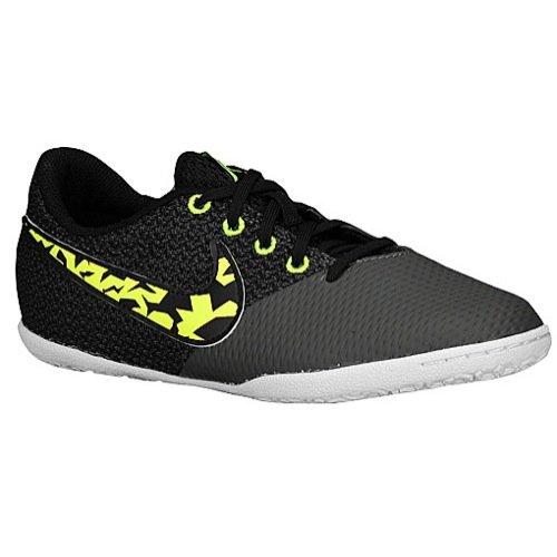 Nike Elastico Pro III IC Kinder Fussball Hallenschuhe black-volt-midnight fog-white - 34