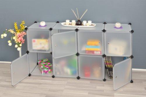 Transparentes Badezimmer Regalsystem - 2
