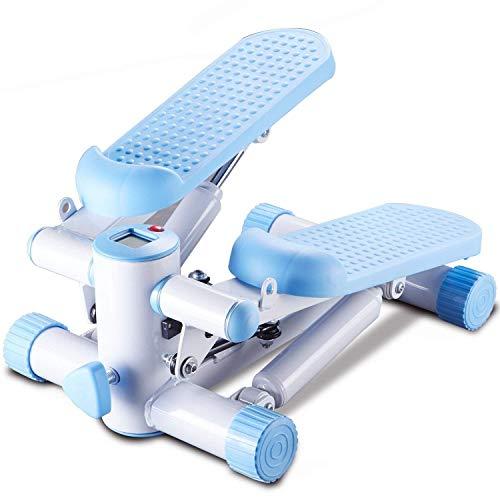 JKLL Treppenstufen-Übungsgerät ohne Installation Protable Stand Up Stepper für den Heimgebrauch, einstellbare Höhe und Widerstand