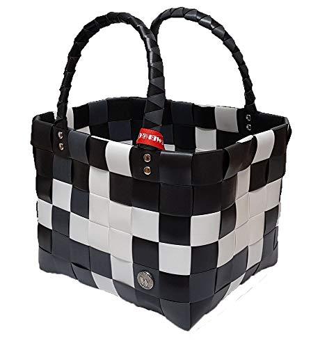 5008-04 original Mini ICE-BAG Shopper - Taschen Körbe Kinderkorb, schwarz-weiß