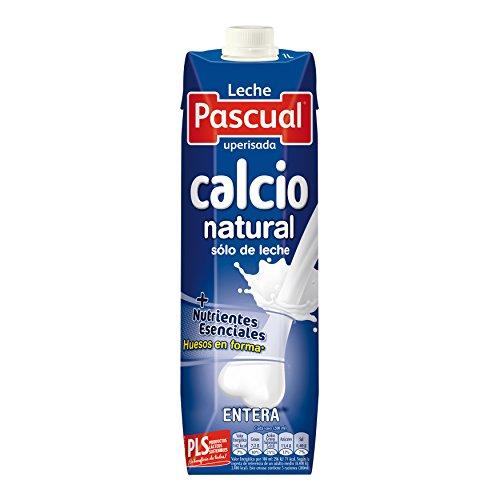 Foto de Pascual Leche Calcio Entera - Paquete de 6 x 1000 ml - Total: 6000 ml