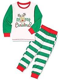 GZQ Pijamas de Navidad