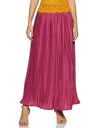 Amazon Brand - Eden & Ivy Women's Pleated Midi Skirt