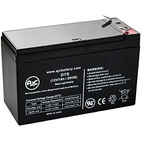 Batteria per Gruppo di continuità Tripp Lite RBC24-SLT 12V 7Ah - Ricambio di marca AJC®
