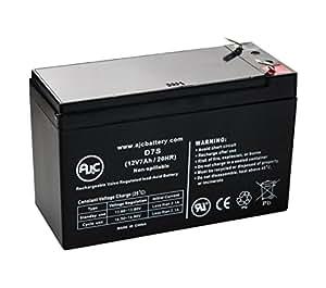 Batterie Sunnyway SW1270 12V 7Ah Acide scellé de plomb - Ce produit est un article de remplacement de la marque AJC®