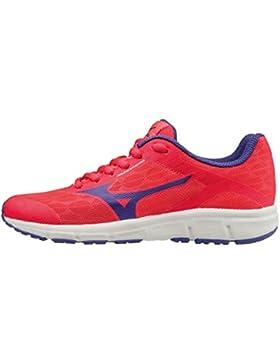 Mizuno Synchro Jr, Zapatillas de Running para Niñas
