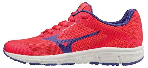Mizuno Synchro Jr, Chaussures de Running Entrainement Fille, Rose