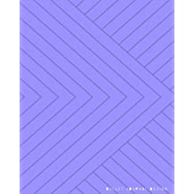 """Bullet Journal Design: Dotted Notebook 8""""x 10"""" Creative Cover: Dot Grid Journal, Design Book, Planner, Work Book, Sketch Book, Math Book, 5mm Dots ... Use 