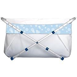 Bibabad - Bañera-asiento de baño, color azul