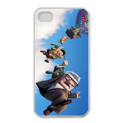 iphone4 4s White phone case Disney Cartoon Comic Series Up QBC3081867
