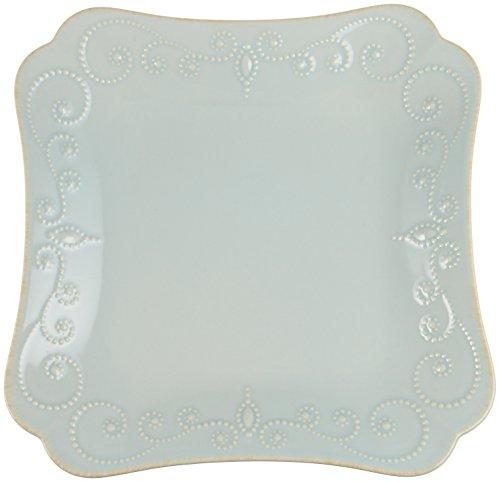 Lenox French Perle Teller-Set, rechteckig eisblau -