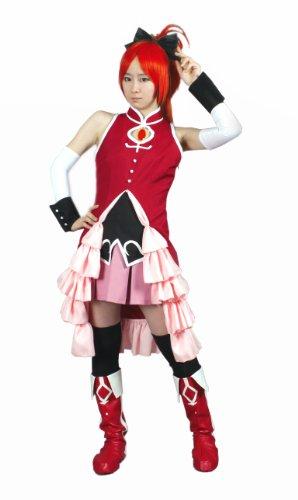 Cosplay Costumes Magical Girl clothes Sakura Kyoko Soul Gem with M size 9 point set Magical Girl Madoka Magica (japan import)