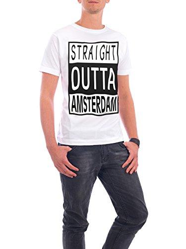 """Design T-Shirt Männer Continental Cotton """"Zurich"""" - stylisches Shirt Typografie Städte Städte / Zürich Reise von David Springmeyer Weiß"""