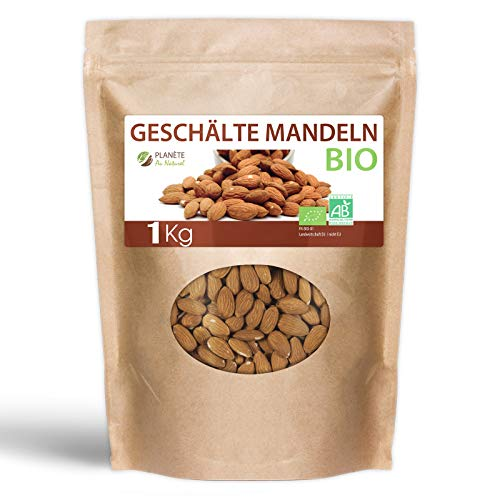 Geschälte Mandeln Bio - 1kg