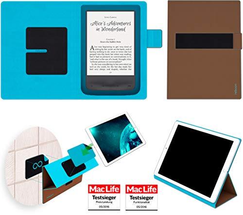 reboon Hülle für Pocketbook Aqua 2 Tasche Cover Case Bumper   in Braun   Testsieger (Aqua-ereader)
