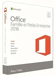 Office Famille et Petite Entreprise 2016 - pour Mac