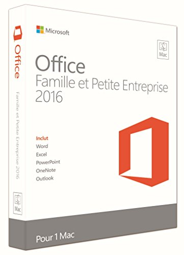 Preisvergleich Produktbild Microsoft OFFICE MAC HOME BUSINESS 2016 W6F-00628