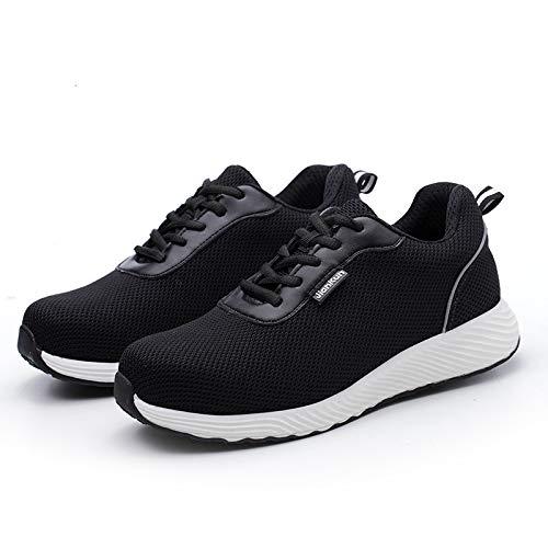 BG7 Anti-Zertrümmernde und Anti-Piercing-Schuhe aus Stahlkappe mit isolierter Zehenkappe Isolationsschuhe vor Ort ultraleichte, nicht standardisierte Arbeitsversicherungsschuhe 1 / Schwarz
