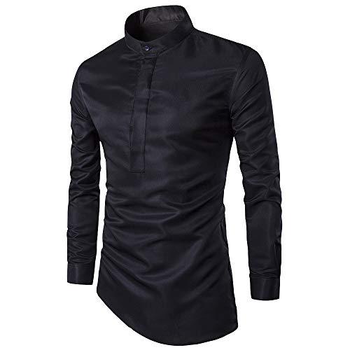 Herren Oberteile,TWBB Unregelmäßig Pullover Sweatshirt Poloshirt Lange Ärmel Shirt Blusen Casual