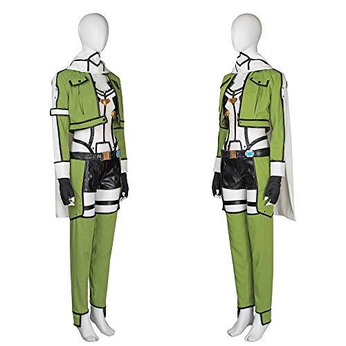 Hzd Schwert Art Online II: Sinon Premium GGO Cosplay Kostüm,Men's,S (Sinon Cosplay Kostüm)