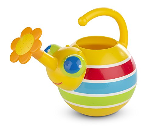 Melissa and Doug Sunny Patch Giddy Buggy Watering Can Toy, Multi Color