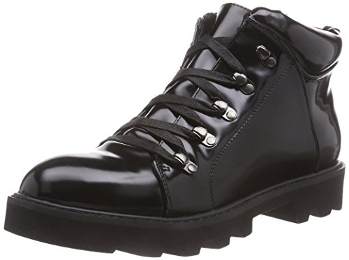 Buffalo Shoes 333179 GM KBZ Damen Kurzschaft Stiefel Schwarz (Black 01)