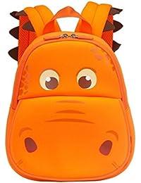 Yisibo Sac à dos pour enfants Sacs à dos de la maternelle Sac à dos pour animaux mignons Cartoon 3D