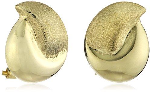 celesta-damen-ohrclip-333-gelbgold-glanz-matt-17-mm-221320266