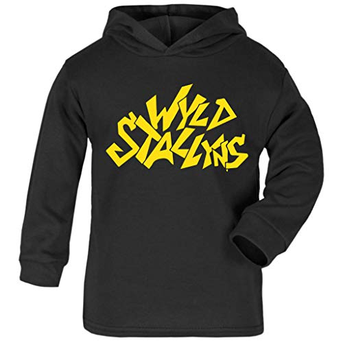 Cloud City 7 WYLD Stallyns Bill and Teds Excellent Adventure Baby and Kids Hooded Sweatshirt