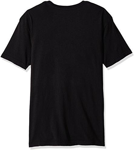 DC Mens Logo Short Sleeve T-Shirt Global Black
