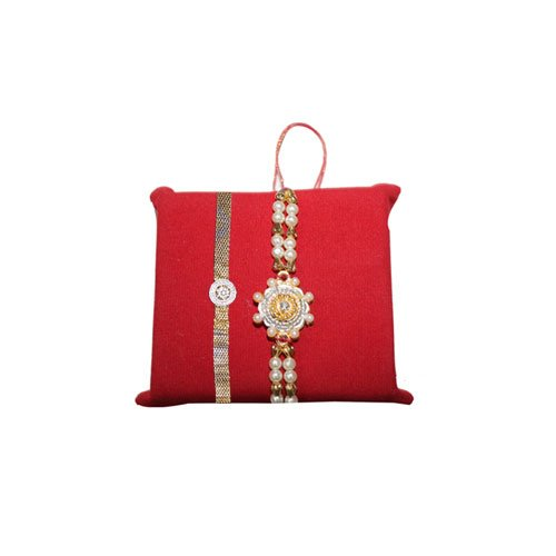 handicrunch-rakhi-set-of-2-designer-bracelet-rakhi-set-with-haldirams-soan-papdi-set