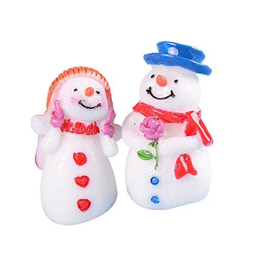 Schneemann Weihnachtsdekoration mit Tophats für Holiday Decor Verschönerung und Erstellung ()