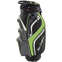 Ben Sayers Men's 14 Way Deluxe Cart Bag - Black/Lime Green