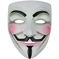 V wie Vendetta Maske Karneval Fasching Party Halloween Kostüm Demo Filmmaske