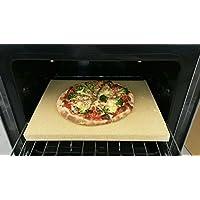 Pizzastein Pizzaplatte Steinofen Flammkuchen 40x30x4cm