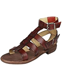 Salt N Pepper Casual Stylish Party Wear 100% Genuine Leather Sandals For WOMEN GIRLS