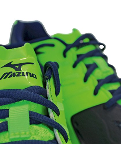 Mizuno Herren Wave Lightning Z2 Volleyballschuhe, Bleu/Blanc/Vert multicolor (90)