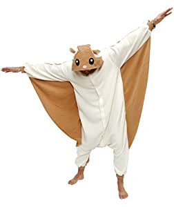 Sazac Kigurumi Flying Squirrel Adult Animal Pyjamas / Fancy Dress Costume [Toy] (japan import)