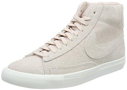 NIKE Herren Blazer Mid Hohe Sneaker, Beige Silt Red-Summit White-Gum Light Brown, 41 EU