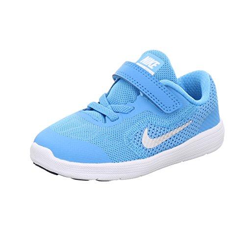 3 Kinder Schuhe Nike Größe Mädchen (Nike NIKE REVOLUTION 3 (TD) Größe 26 Blau (Lagune))