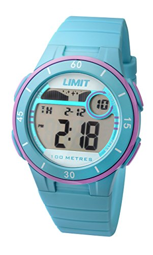 Limit-Active-Girls-Digital-Watch-with-LCD-Dial-Digital-Display-and-Blue-Plastic-Strap-555824