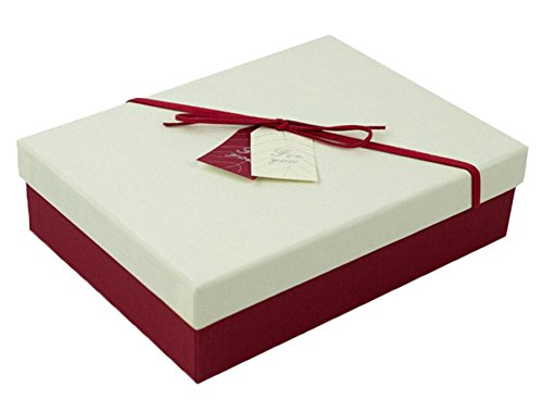 Rectangle Geschenkverpackung Kraft Karton Papierkiste