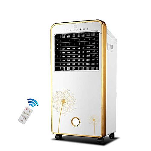 JJ@ Tragbare Klimaanlage mit Kühlung/Heizung/Befeuchtung - Intelligente Fernbedienung + Timing + 3-Fach Verstellbarer, Mobiler Luftkühler, 80 W