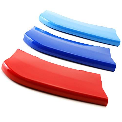 M-Color ABS Parrilla Rayas Insertos riñón rejillas (F15 X5 / F16 X6-7 vigas)