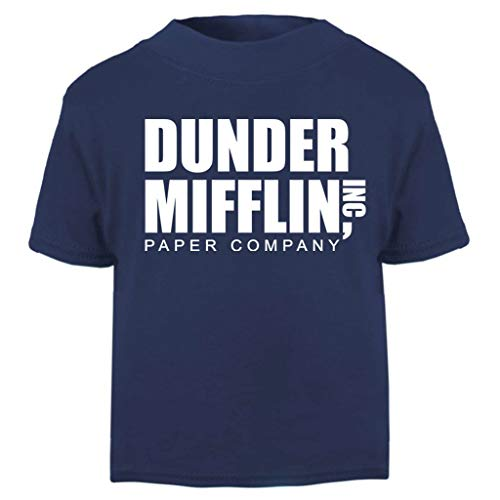 Office Michael Kostüm - Dunder Mifflin Paper Company The Office USA Baby and Toddler Short Sleeve T-Shirt