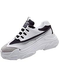 ALIKEEY La Mujer Tacones Plataforma Zapatos Casuales Mujeres Salvajes De Ocio Zapatos De Blanco Y Negro Letras