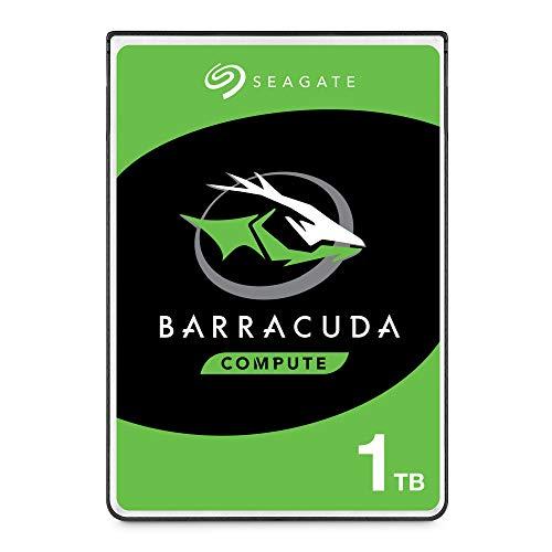 SeagateST1000LMZ48 BarraCuda 1 TB intern Festplatte (6,35 cm (2,5 Zoll), 7 mm dünn, 5400 u/min, 128 MB Cache, SATA 6 Gb/s, silber, FFP (Frustfreie Verpackung))